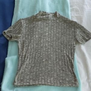 American Dream short sleeved high neck t shirt